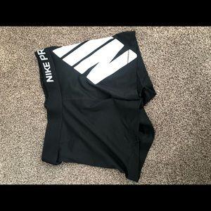 Women's Nike spandex shorts